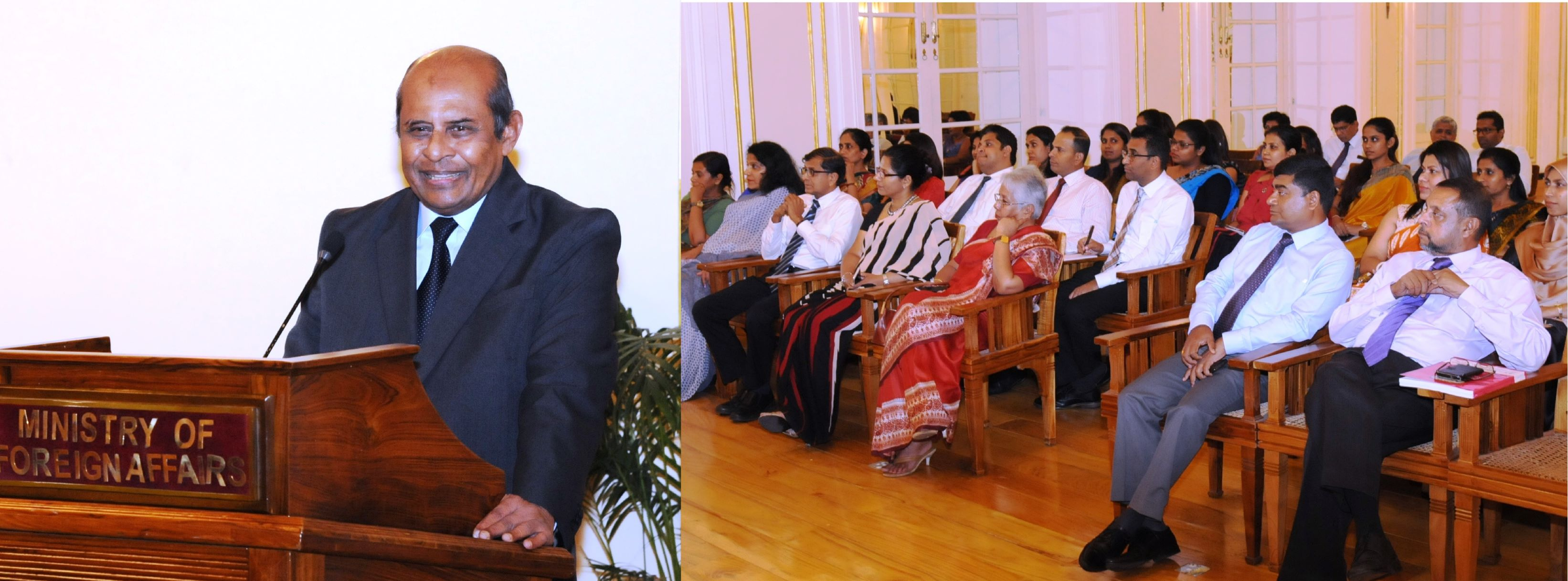 Foreign Minister Marapana Calls On Sri Lankan Diplomats To Boost The Image Of Lanka Overseas Through Effective Execution Public Diplomacy